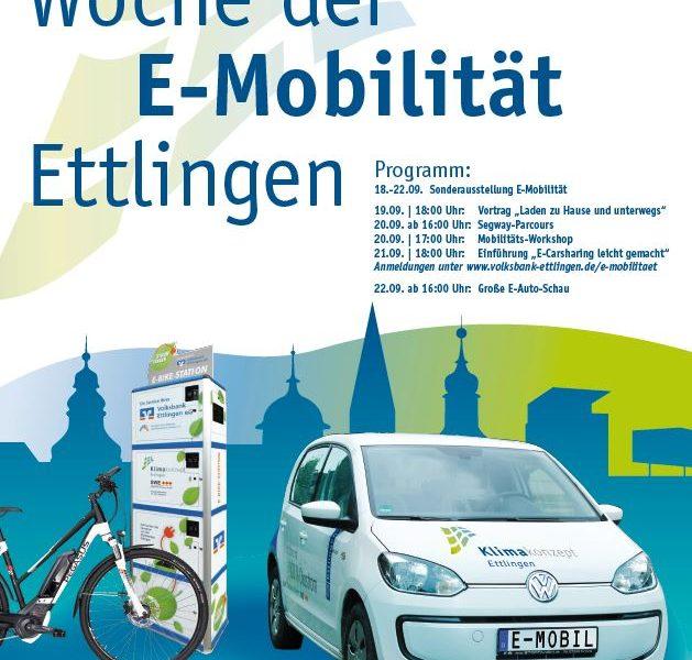 Rückblick: 'Woche der E-Mobilität'